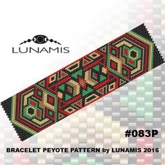 PATTERN ONLY. Create this beautiful peyote cuff bracelet.  Miyuki Delica Beads size 11/0 Odd count with 5 bead colors. 31 bead columns by 91 bead rows. Width: 1.6 (4,2 cm) Length: 6.2 (16 cm)   Patterns include: - Large colored numbered graph paper (and non-numbered in another files) - Bead legend (numbers and names of delica beads colors ) - Word chart - Pattern preview  This pattern is intended for users that have experience with odd count peyote and the pattern itself does NOT include…