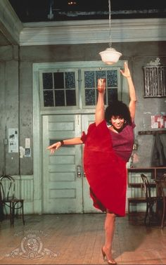 """- alwaysbewoke: """" dancinglikebreathing: """" Debbie Allen in Fame (TV series, Christopher Gore """" no show about being a high school student of the arts will ever be better than """"fame. Shall We Dance, Lets Dance, Poses, Black Dancers, Debbie Allen, Black Ballerina, Vintage Black Glamour, My Black Is Beautiful, Black Girl Fashion"""