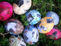 "An interesting idea, helping kids process grief through making ""memory eggs""... an easter craft for grieving children."