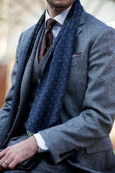 Men's Style Inspiration   Suits   Ties   Pocket Squares