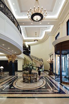 Opulance... I has it. Ritz Carlton Moscow