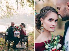 Intimate Fall Ukrainian Wedding: Stanislav + Yana