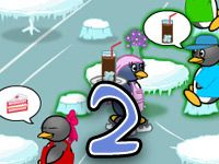 Penguin Diner at Bad Piggies 2. The Penguin Diner is Seat your customers, take their orders, serve the food and collect money.