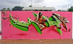 Piece By Heype - Etang-Sale (Reunion) - Street-art and Graffiti   FatCap