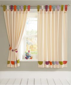 Timbuktales - Tab Top Curtains (132 x 160cm)