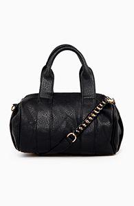 Daily Look Stud base Duffel bag in black, $49.99
