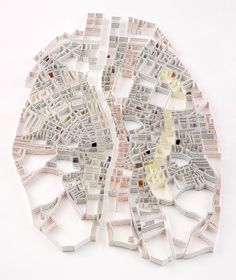 Paper Map by Matthew Picton: