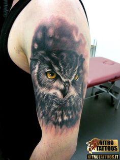 immagini tatuaggi gufi #tatuaggi #tatuaggio #tattoos #tattoo #nitrotattoos