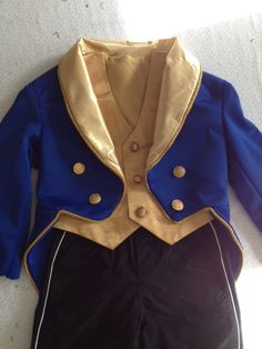 Halloween 2012. Disney's Beauty and the Beast. The Beast's basic costume without the shirt. Complete with tailcoat, vest and tuxedo pants.
