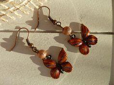 Martinuska / červeno oranžové motýle