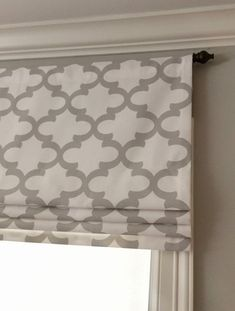 Custom by JaimeInteriors Faux Roman Shades, Premier Prints, French Grey, Window Treatments, Window Coverings, Blinds, Kitchen Windows, Kitchen Curtains, Kitchens