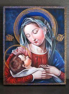 La Virgen María y El Niño Jesús http://www.artelista.com/obra/5787464294955971-la-virgen-maria-y-el-nino-jesus.html