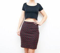 #Vintage floral #skirt by #ZvezdanaVintage, $33.00