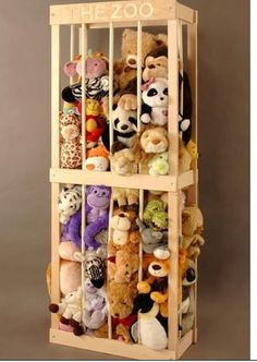 Stuffed Animal Keeper by Rswoodwork on Etsy, $80.00