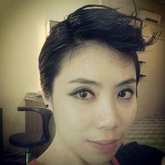 Pixie cut # mongoloid hair art