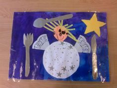Placemat kerst @storkschool