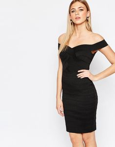 New+Look+Bardot+Bodycon+Dress