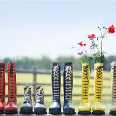 Ilse Jacobsen Laced Rain Boot, Short in Gardening TRENDING Fresh Finds at Terrain