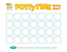 Download a printable Potty Time success chart! they even have an app for your phone to aid in P.T :)