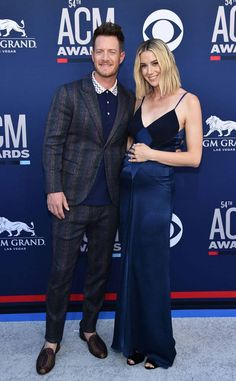 Tyler Hubbard & Hayley Hubbard from ACM Awards 2019 Red Carpet Fashion American Country Music Awards, Academy Of Country Music, Country Music Artists, Tyler Hubbard, Famous Musicians, Florida Georgia Line, Baby On The Way, Red Carpet Fashion, Absolutely Gorgeous