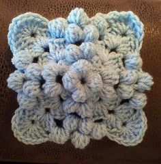 Bobble Granny Square