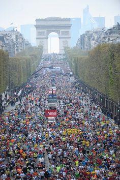 2012 Paris Marathon Start