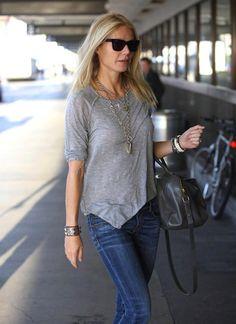 Saint-Laurent Paris bag + gwyneth Paltrow
