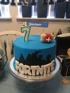 Fortnite Birthday Cake Victory Royals Medkit Rice Krispy Treats