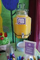Tangled Rapunzel party magic golden flower punch, and many, many more AWESOME ideas for a Tangled party! Birthday Party Punches, Rapunzel Birthday Party, Tangled Party, 4th Birthday Parties, Princess Birthday, Girl Birthday, Tangled Rapunzel, Birthday Ideas, Fourth Birthday