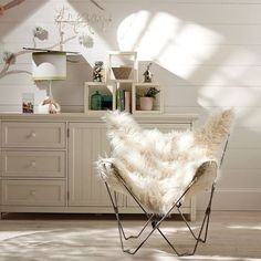 Butterfly chair, originally designed in 1938 by the Argentinian architect Jorge Ferrari-Hardoy