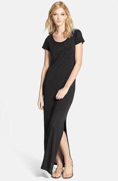Splendid+Slub+Knit+T-Shirt+Maxi+Dress+available+at+#Nordstrom