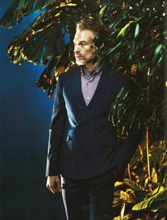 Ermenegildo Zegna on Esquire's Big Black Book, SS14 issue #fashion #editorial #zegna