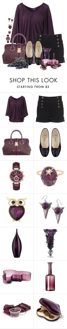 """""""Untitled #1573"""" by patsypatsy ❤ liked on Polyvore featuring Louis Vuitton, A.P.C., Michael Kors, Andrea Fohrman, Monet, iittala, OKA and Aspinal of London"""