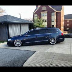 Volkswagen Passat lekker laag