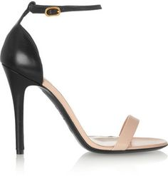 Alexander McQueen Two-tone leather sandals on shopstyle.com, trending from the style fashion musings  blog of styletheories.com