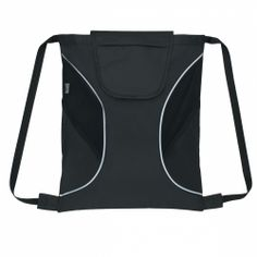 Sports Promotional Cinch Pack With Mesh Sides