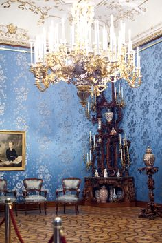 Interior city palace Liechtenstein - HD pic - two click for full screen