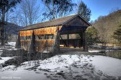 covered+bridges | Tuscarora Club Covered Bridge, New York | Nature Notes
