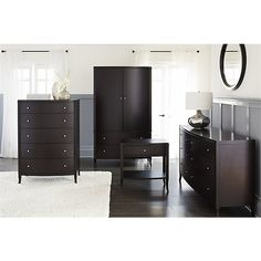 Colette Bedroom Collection   Crate and Barrel