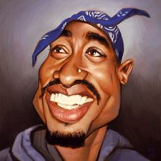 tupac caricature - Google Search