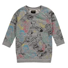 Finger in the Nose Kinderkleding Online Shop Sweat Dress, Heather Grey, Finger, Sleeves, Sweaters, Mens Tops, T Shirt, Shopping, Things To Sell