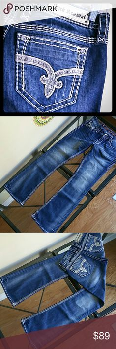 Rock revival jeans Very good condition inseam 33.5 in Rock Revival Jeans Boot Cut