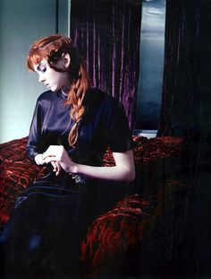 Lily Cole.