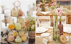 If you happen to be planning a bridal shower between now and November, you have the bounty of autumn to inspire you. Think pumpkins, cornucopias of flowers and leaves, apples, gold and burgundy, oranges and sienna, spiced vanilla, cranberry, rustic decor and autumn-scented candles. Even Halloween themes work! There's so much to choose from and...Continue Reading »