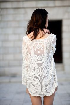 BUY HERE: http://www.glamzelle.com/products/lacey-summer-tunic