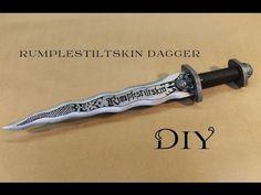 DIY • Rumpelstiltskin´s Dagger l Craft With Me - YouTube