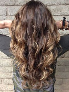 Hottest Highlights for Dark Brown Hair   New Haircuts to Try for 2016, Hairstyles for long short and medium hair