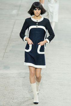Chanel Spring 2014 Ready-to-Wear Fashion Show - Mijo Mihaljcic (IMG)