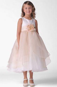 Us Angels 'Petal' Dress (Toddler, Little Girls & Big Girls) | Nordstrom