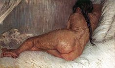 Vincent van Gogh Completion Date: 1887 Place of Creation: Paris, France Style: Post-Impressionism Genre: nude painting (nu) Technique: oil Material: canvas
